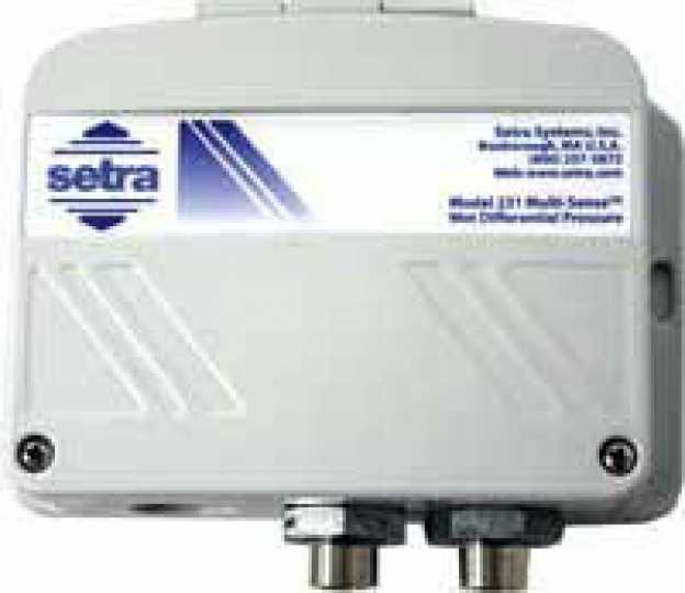 Setra Systems, Inc. - 231(Wet-to-Wet Pressure Transducer